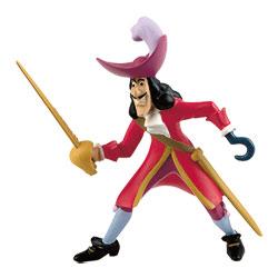Figurine du Capitaine Crochet-Univers Peter Pan