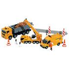 3 véhicules de chantier et accessoires