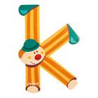 Lettre clown K