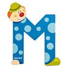 Lettre clown M