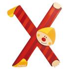 Lettre clown X