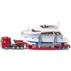 Camion convoi exceptionnel avec Yacht