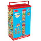 Jeu de construction en bois Tecap Color 300 pièces