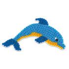 Plaque pour perles à repasser dauphin midi