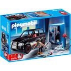 4059 - Playmobil City Action Voiture et cambrioleur de coffre-fort