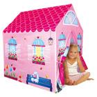 Tente maison rose