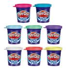 8 pots Play Doh Plus