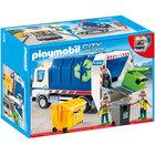 4129 - Playmobil Camion de recyclage avec lumières