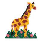 Plaque pour perles à repasser girafe