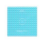 Plaque transparente carrée perles à repasser
