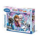 Puzzle 104 pièces La Reine des Neiges