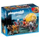 6005 - Chevaliers de l'Aigle avec charrette piégée - Playmobil Knights