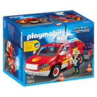 5364-Véhicule d`intervention avec sirène - Playmobil pompiers et aéroport