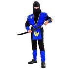 Costume Ninja Bleu 4/6 ans