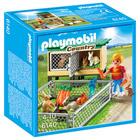 6140 - Enfant avec enclos à lapins et clapier - Playmobil Country