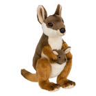 WWF Wallaby avec bébé 19 cm