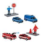 Coffret véhicules de sauvetage