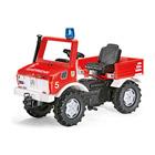 Camion de pompier à pédales Unimog
