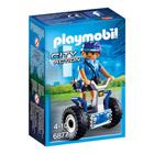 6877- Policière avec gyropode - Playmobil City Action