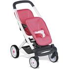 Bébé confort - poussette jumeaux - 2 positions + roues silencieuses