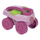 Chariot 40 pièces rose