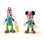 Pack 2 figurines Mickey & Dingo