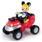 Quad de pompiers Mickey