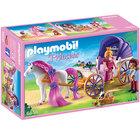 6856 - Calèche Royale avec cheval à coiffer - Playmobil Princess