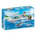6981 - Playmobil Family fun - Bateau de plongée