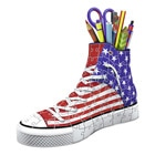 Puzzle 3D-Sneaker American Style 108 Pièces