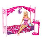 Poupée Barbie et Mobilier Chambre
