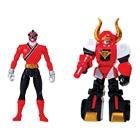 Power Rangers - Figurine Zord Armure Bull Megazord 10 cm