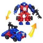 Figurine Transformers 4 Construct Bots Riders Optimus Prime