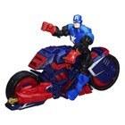 Avengers Figurine et son véhicule - Captain America