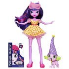 My Little Pony Equestria Girls Soirée Pyjama Twilight et Spike