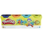 Pâte à modeler 4 pots couleur Brights de Play-Doh