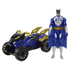 Véhicule Batman avec Figurine 30 cm Quad Tout terrain