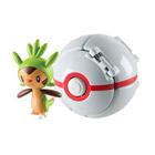 Pokemon throw'n pop pokéball - Honorball avec pokémon plante Marisson