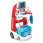 Chariot médical bleu
