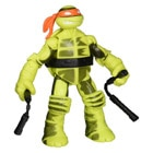 Figurine Color Change Tortues Ninja 12 cm Mikey