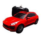 Voiture radiocommandée 1/24 ème : Porsche Macan Turbo Rouge