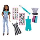 Barbie DIY mode émoticônes métisse