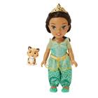 Poupée Princesse Disney 15 cm Petite Jasmine et Rajah