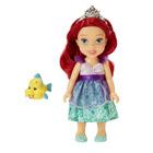 Poupée Princesse Disney 15 cm Petite Ariel et Polochon