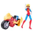 Figurine et véhicule DC Super Hero Girls Wonder Woman