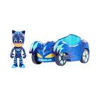 Véhicule Pyjamasques avec figurine Sacha Yoyo bleu