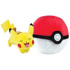 Pokémon-Peluche Zip Pikachu