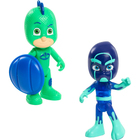 Pyjamasques-Coffret 2 figurines Gluglu et Ninja