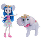 Enchantimals-Balade au zoo éléphant et poupée Antic