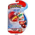 Pokémon-Lanceur Pokéball et peluche Brindibou